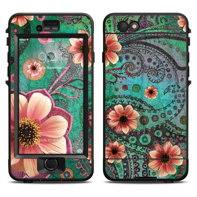 Lifeproof iPhone 6 Nuud Case Skin - Paisley Paradise