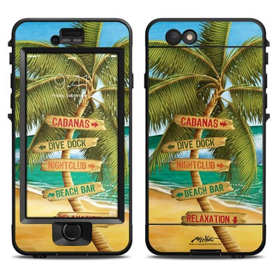 Lifeproof iPhone 6 Nuud Case Skin - Palm Signs