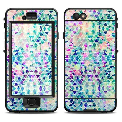 Lifeproof iPhone 6 Nuud Case Skin - Pastel Triangle