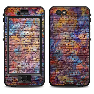 Lifeproof iPhone 6 Nuud Case Skin - Painted Brick