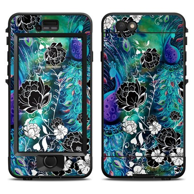Lifeproof iPhone 6 Nuud Case Skin - Peacock Garden
