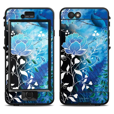 Lifeproof iPhone 6 Nuud Case Skin - Peacock Sky