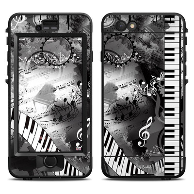 Lifeproof iPhone 6 Nuud Case Skin - Piano Pizazz
