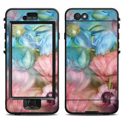 Lifeproof iPhone 6 Nuud Case Skin - Poppy Garden