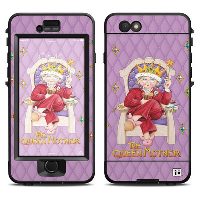 Lifeproof iPhone 6 Nuud Case Skin - Queen Mother