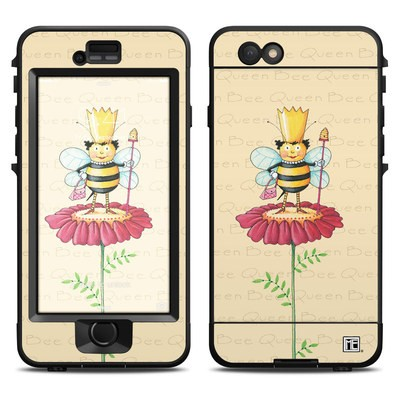 Lifeproof iPhone 6 Nuud Case Skin - Queen Bee