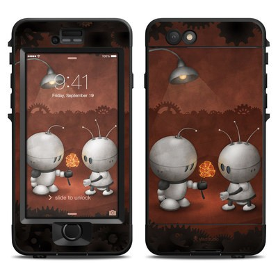 Lifeproof iPhone 6 Nuud Case Skin - Robots In Love