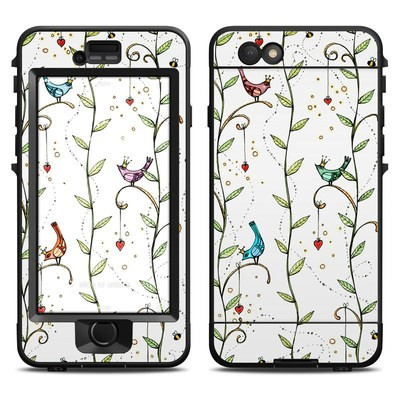 Lifeproof iPhone 6 Nuud Case Skin - Royal Birds