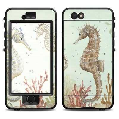 Lifeproof iPhone 6 Nuud Case Skin - Seahorse Trio