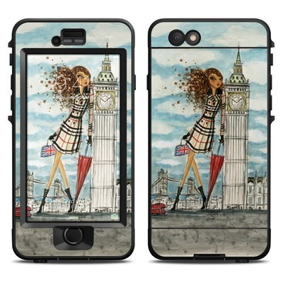 Lifeproof iPhone 6 Nuud Case Skin - The Sights London