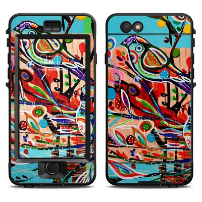Lifeproof iPhone 6 Nuud Case Skin - Spring Birds