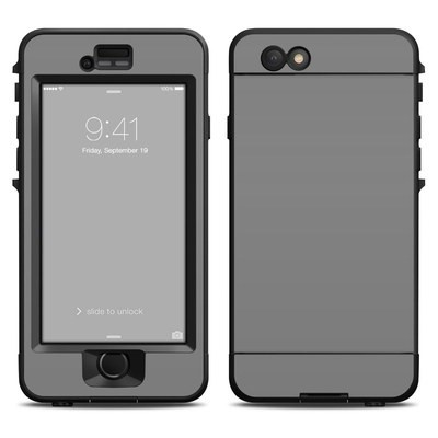 Lifeproof iPhone 6 Nuud Case Skin - Solid State Grey