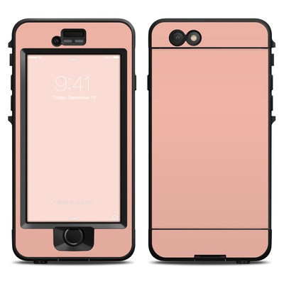 Lifeproof iPhone 6 Nuud Case Skin - Solid State Peach