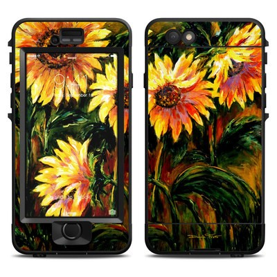 Lifeproof iPhone 6 Nuud Case Skin - Sunflower Sunshine