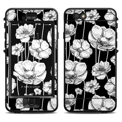 Lifeproof iPhone 6 Nuud Case Skin - Striped Blooms