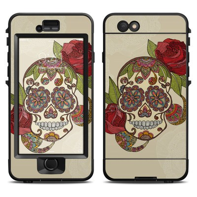 Lifeproof iPhone 6 Nuud Case Skin - Sugar Skull