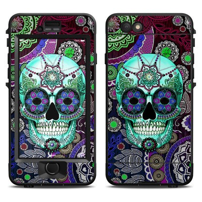 Lifeproof iPhone 6 Nuud Case Skin - Sugar Skull Sombrero