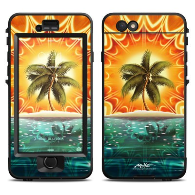 Lifeproof iPhone 6 Nuud Case Skin - Sundala Tropic