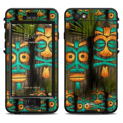 Lifeproof iPhone 6 Nuud Case Skin - Tiki Abu