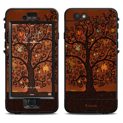 Lifeproof iPhone 6 Nuud Case Skin - Tree Of Books