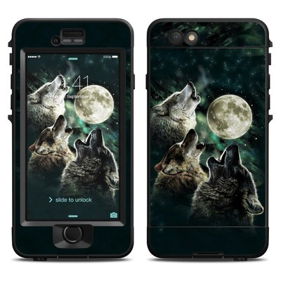Lifeproof iPhone 6 Nuud Case Skin - Three Wolf Moon