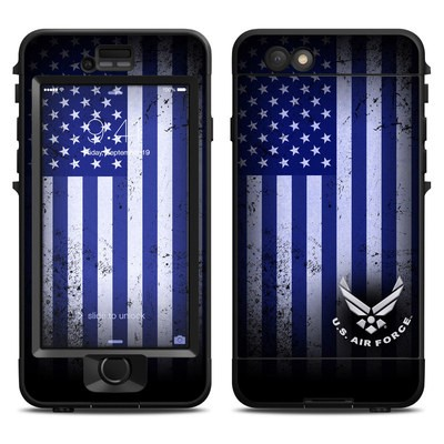 Lifeproof iPhone 6 Nuud Case Skin - USAF Flag