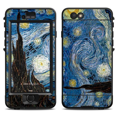 Lifeproof iPhone 6 Nuud Case Skin - Starry Night