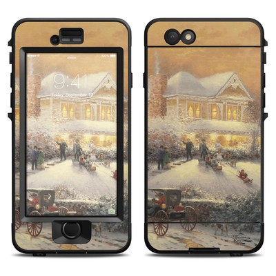 Lifeproof iPhone 6 Nuud Case Skin - Victorian Christmas