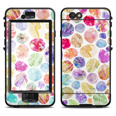 Lifeproof iPhone 6 Nuud Case Skin - Watercolor Dots