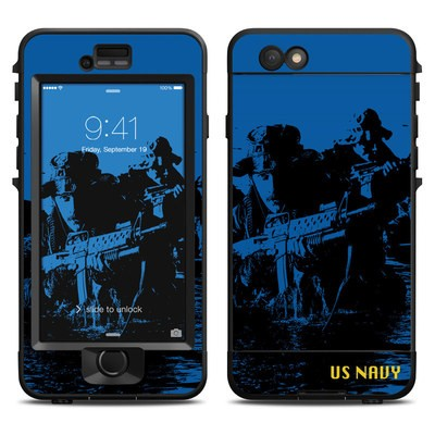 Lifeproof iPhone 6 Nuud Case Skin - Water Heist