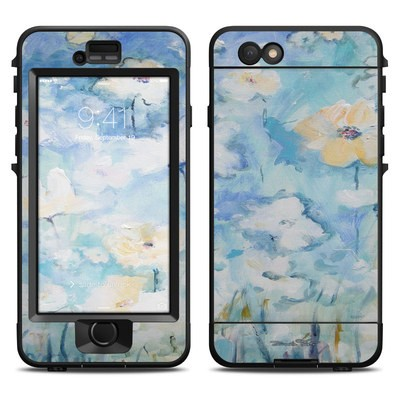Lifeproof iPhone 6 Nuud Case Skin - White & Blue