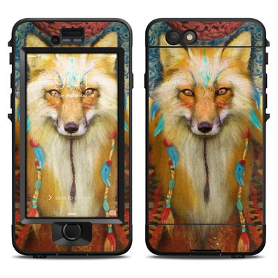 Lifeproof iPhone 6 Nuud Case Skin - Wise Fox