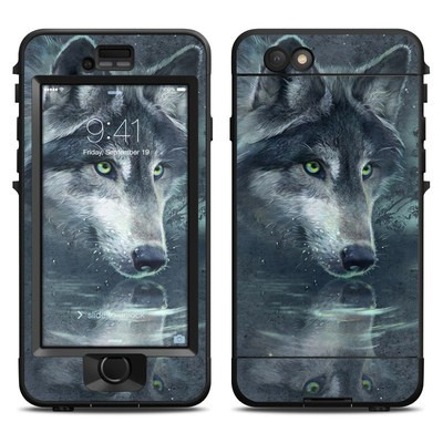 Lifeproof iPhone 6 Nuud Case Skin - Wolf Reflection