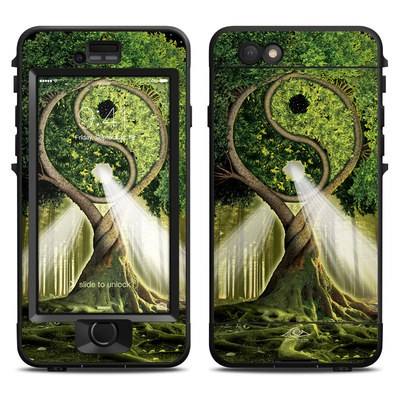 Lifeproof iPhone 6 Nuud Case Skin - Yin Yang Tree