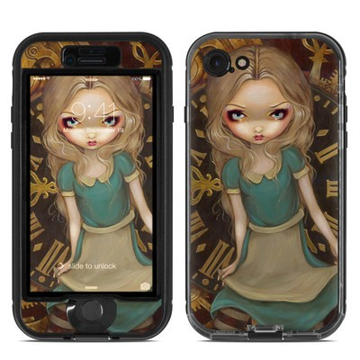 Lifeproof iPhone 7 Nuud Case Skin - Alice Clockwork