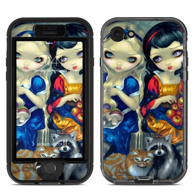 Lifeproof iPhone 7 Nuud Case Skin - Alice & Snow White