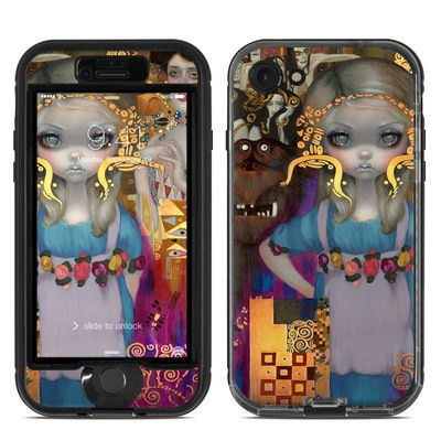 Lifeproof iPhone 7 Nuud Case Skin - Alice in a Klimt Dream
