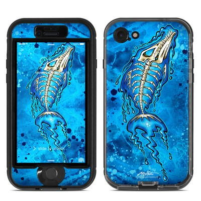 Lifeproof iPhone 7 Nuud Case Skin - Barracuda Bones