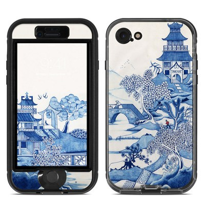 Lifeproof iPhone 7 Nuud Case Skin - Blue Willow