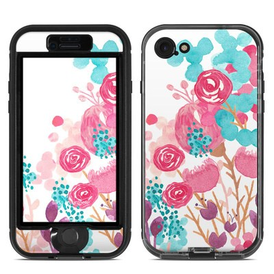 Lifeproof iPhone 7 Nuud Case Skin - Blush Blossoms