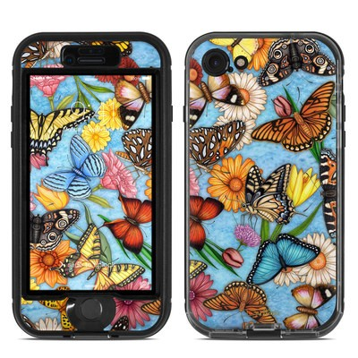 Lifeproof iPhone 7 Nuud Case Skin - Butterfly Land