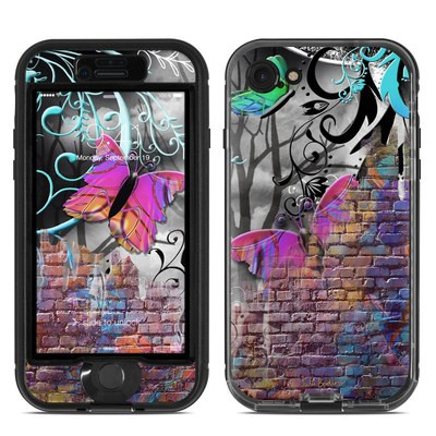 Lifeproof iPhone 7 Nuud Case Skin - Butterfly Wall