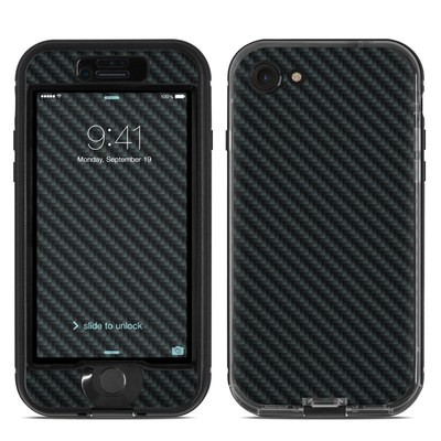 Lifeproof iPhone 7 Nuud Case Skin - Carbon