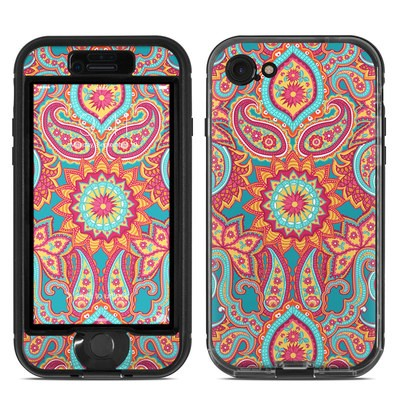Lifeproof iPhone 7 Nuud Case Skin - Carnival Paisley