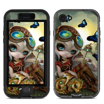 Lifeproof iPhone 7 Nuud Case Skin - Clockwork Dragonling