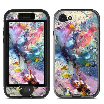 Lifeproof iPhone 7 Nuud Case Skin - Cosmic Flower