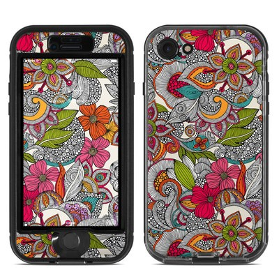 Lifeproof iPhone 7 Nuud Case Skin - Doodles Color