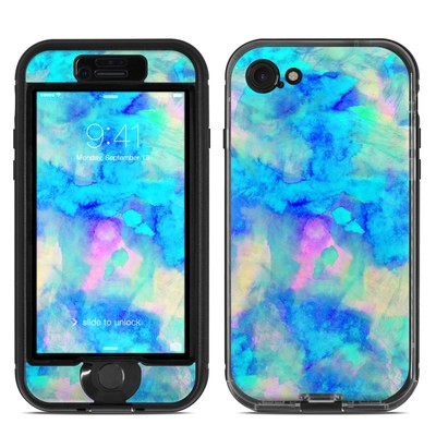 Lifeproof iPhone 7 Nuud Case Skin - Electrify Ice Blue