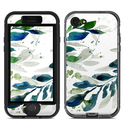 Lifeproof iPhone 7 Nuud Case Skin - Floating Leaves