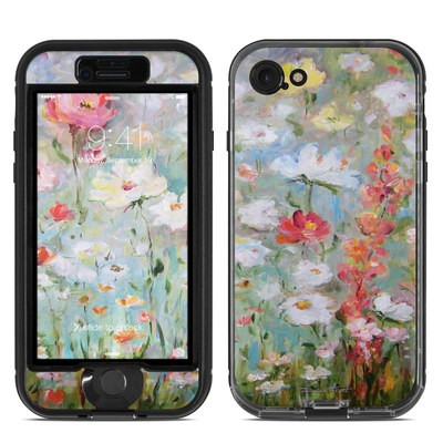Lifeproof iPhone 7 Nuud Case Skin - Flower Blooms